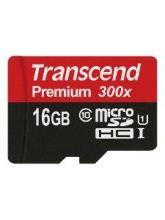 Transcend 16GB MicroSDHC Class 10 TS16GUSDCU1