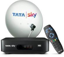 tata sky HD BOX with Semi-Annual Bengali Value HD Pack