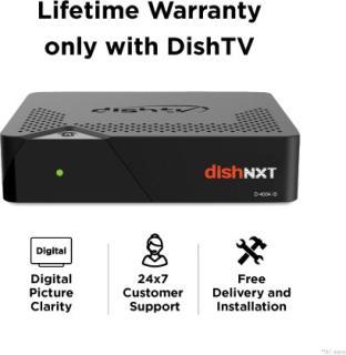 Dish TV SD Box with 1 Month Super Family Gujarati
