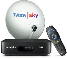 Tata Sky HD BOX With one month Tamil basic (Black)+ Installation