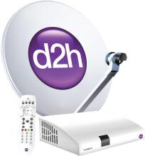 D2H SD Set Top Box 1 Month Gold Hindi Combo Pack