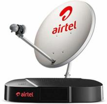 Airtel Digital TV SD Set top Box 1 month My Family Pack SD