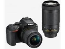 Nikon D5600 (AF-P DX 18-55mm f/3.5-f/5.6G VR and AF-P DX 70-300mm f/4.5-f/6.3G ED VR Dual Kit Lens) Digital SLR Camera