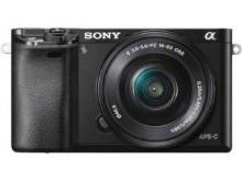 Sony Alpha ILCE-6000L (SELP1650) Mirrorless Camera
