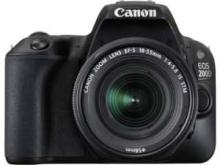 Canon EOS 200D (EF-S 18-55mm f/4-f/5.6 IS STM Kit Lens) Digital SLR Camera